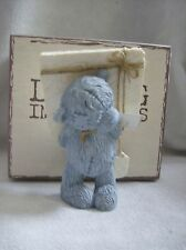 Me To You resin bear  figure lasting impressions holding parcel