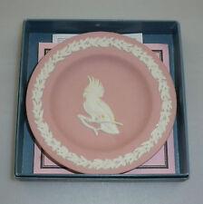 Vintage Wedgwood Jasperware Australian Miniature Plate Cockatoo Ltd Edition