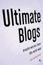 Sarah Boxer - Ultimate Blogs (2008) - Used - Trade Paper (Paperback)