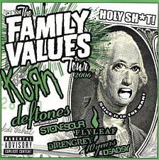 Family Values Tour 2006 CD Korn Deftones Stone Sour Flyleaf