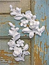 SHABBY & CHIC ROSE VINES  FURNITURE APPLIQUES / ONLAYS !