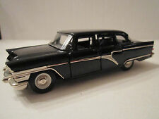 "VTG RUSSIAN CHAIKA (GAZ 13) 1:43 DIECAST USSR BLACK CAR IN BOX 5""- MINT - TUB RS"