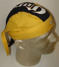 Blue & Yellow Corona on Top Extra Beer Logo Crown Doo Du Rag Headwrap Skull Cap