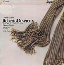 Donizetti ROBERTO DEVEREUX Gencer Cappuccilli Bondino - BOX 3 LP Foyer SEALED