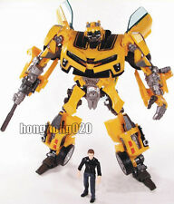Transformers Revenge of The Fallen Human Alliance Bumblebee & Sam Action Figure