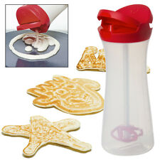 Pancake Batter Dispenser Squeeze Bottle Professional Mix & Pour Waffles Crêpes