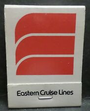 ss Emerald Seas . Eastern Cruise Lines . Full Matchbook . Ocean Liner Boat V020