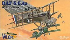 Valom 1/144 Model Kit 14404 RAF Royal Aircraft Factory SE.5A  Dual Combo