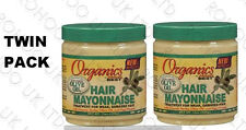 2 X AFRICA'S BEST ORGANICS HAIR MAYONNAISE TREATMENT FOR HAIRS 425g 16 OZ