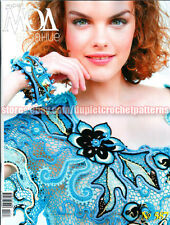Zhurnal Journal MOD 587 July 2015 issue Russian knit and crochet patterns book