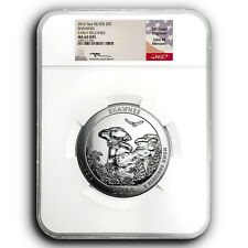 2016 Shawnee NGC MS69 DPL ER ATB 5 oz Silver Coin