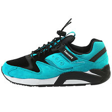 Saucony Grid 9000 Mens S70196-4 Bungee Pack Green Black Running Shoes Size 10.5