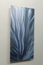 Metal Abstract Modern Painting Wall Art  Sculpture Steel Blue 2  By Jon Allen