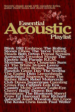 Essential Acoustic Playlist Guitar Chord Songbook Buskers Book Sheet Music S16