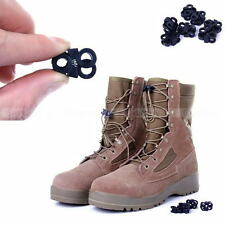 5 X Shoelace Buckle Stopper Rope Clamp Cord Lock Cross Design Outdoor Sport EDC