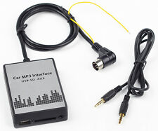 USB AUX MP3 Adapter Volvo HU-401, 403, 405, 601, 603, 650, 801, 803, 850, 1205