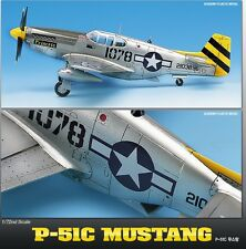 Academy 1/72 P-51C MUSTANG The Fighter of World War II 12441 Military Aircraft