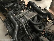 FORD FOCUS 2001 1.8 TURBO DIESEL COMPLETE ENGINE AND 5 SPEED GEARBOX