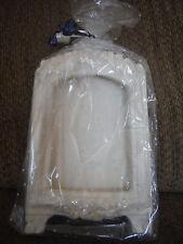 "NEW Ceramic Cream Picture Frame Holds 5"" x 3.5"" Photo - w Glitter"