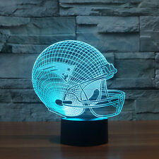 NFL New England Patriots 3D Night Light 7 Color Change LED Table Lamp Toys Gift