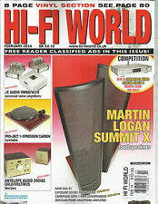 HI-FI WORLD, FEBRUARY, 2014