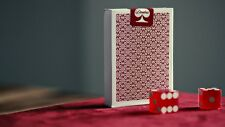 MADISON DEALER PLAYING CARDS RED BORDERED MARKED DECK ELLUSIONIST BICYCLE MAGIC