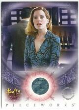 Buffy Women of Sunnydale PW-3 Pieceworks Costume Card Anya from Inkworks 2004