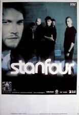 STANFOUR - 2009 - Tourplakat - Rise And Fall - Tourposter