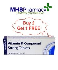 VITAMIN B COMPOUND STRONG TABLETS 28 TABS  - buy two get one free