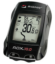 Sigma ROX 10.0 GPS Wireless Bike Computer Cyclometer - Black