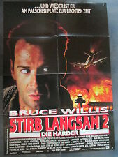 STIRB LANGSAM 2 - DIE HARDER - Filmplakat A1 - Bruce Willis
