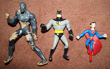 Batman Superman Marvel Spiderman Venom black suit Toy Action Figure Lot  used