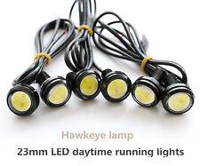 2× 23MM 9W 12v LED car fog white reversing lights Hawkeye daytime running lights