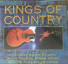 Kings Of Country 2-Disc Compilation Kenny Rogers Faron Young Willie Nelson VGC