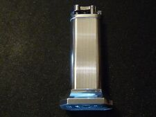 DUNHILL SILVER PLATED UNIQUE TABLE LIGHTER - EXCELLENT USED CONDITION