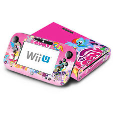 Skin Decal Cover for Nintendo Wii U & GamePad - Little Pony Friendship Magic