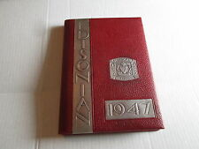 1947 Edison Technical and Industrial High School Yearbook Rochester New York NY