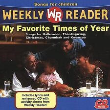 Various Artists, Weekly Reader: My Favorite Times of Year, Excellent Enhanced