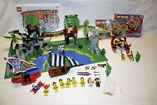 Lego - Pirates - Islanders - Enchanted Island 6292 AND Islander Catamaran 6256