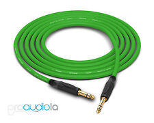 "Canare Quad Cable L-4E6S | Neutrik Gold 1/4"" TRS 
