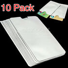 10PCS RFID Secure Protector Blocking Credit Card Sleeves Holder Case