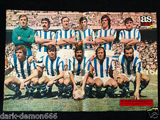 POSTER AS COLOR REAL SOCIEDAD FUTBOL 1974-75
