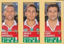 N°752 NOLE - CERAVOLO # ITALIA TERNANA CALCIO CALCIATORI 2014 PANINI STICKER