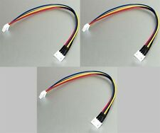 3 x JST-XH 4S Balance Wire Extension Battery Adapter Cable LiPo Connector U1CD