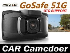 PAPAGO GoSafe 51G GPS CAR DVR *1440P/GPS Logger/ Support OTG/160 angle w Gift