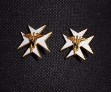 Genuine Pair US United States Army Nurse Corps Pin Badges