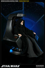 Star Wars Emperor Palpatine & Imperial Throne Premium Format Exclusive Sideshow
