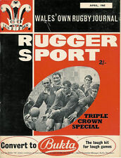 Rugger SPORT-Welsh Rugby MAGAZINE APRILE 1965 - *** Triple Crown SPECIALE ***