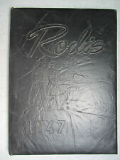 1947 RODIS Yearbook - Lincoln High School - Midland Beaver Co. PA - NO writing