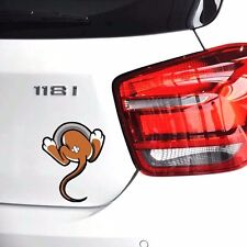 Funny 3D Mouse Tail Cartoon for Fuel Tank Car Sticker | Cool Animal Body Decal